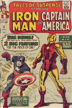 Tales of Suspense #59<br>Copertina originale di Jack Kirby<br><i>(c) 1964 Marvel Comics</i>