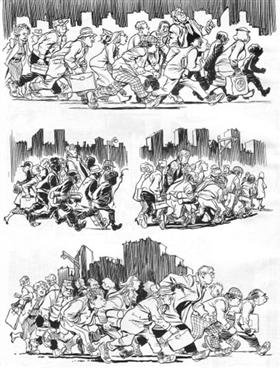 Tempo interiore - City People Notebook<br>disegni di Will Eisner<br><i>(c) 2008 Einaudi</i>