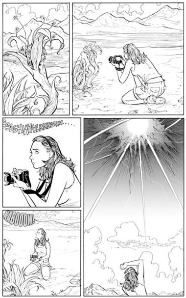 Julie Martin<br>disegni di Terry Moore<br><i>(c) 2008 Freebooks</i>