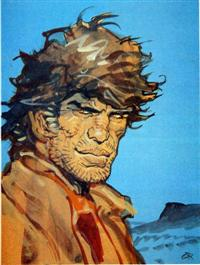 Mike Steve Donovan alias Blueberry<br>Illustrazione di Jean Giraud<br><i>(c) Dargaud</i>