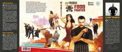 Cover Chef Rubio: Food Fighter<br>disegni di Andrea Meloni<br><i>(c) 2014 Edizioni Star Comics</i>