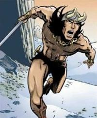 Conan nella prima versione di Barry Windsor Smith<br><i>(c) Marvel Comics</i>