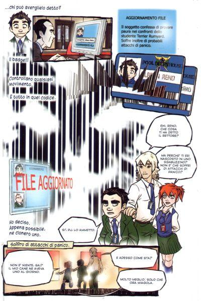 Reno, Gil e PJ <br>Speed Loop - Episodio zero - pag.33 - disegni di Claudio Sciarrone<br><i>(c) 2006 Disney</i>