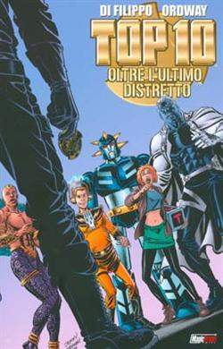 Top 10: Oltre l'ultimo distretto<br>disegni di Jerry Ordway<br><i>(c) 2008 Magic Press</i>
