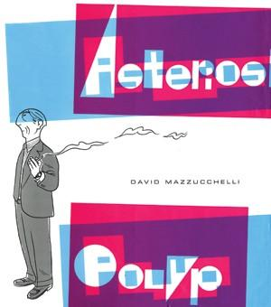 Asterios Polyp<br>la copertina dell'albo<br><i>(c) 2011 Coconino Press</i>
