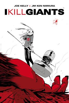 I Kill Giants<br>la copertina dell'albo<br><i>(c) 2011 BAO Publishing</i>