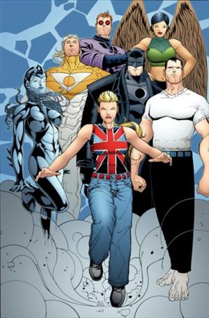 The Authority<br>Disegni di Doug Mahnke<br><i>(c) WildStorm Productions/DC Comics</i>