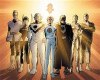 The Authority<br>Disegni di Frank Quitely<br><i>(c) WildStorm Productions/DC Comics</i>